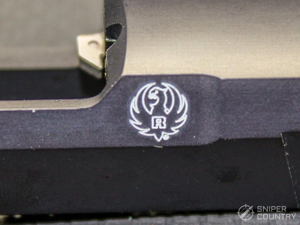 Ruger SR22 slide logo