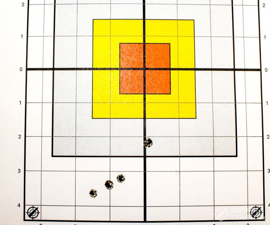 target shot Winchester