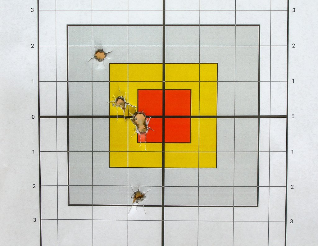 target shot with 230RN