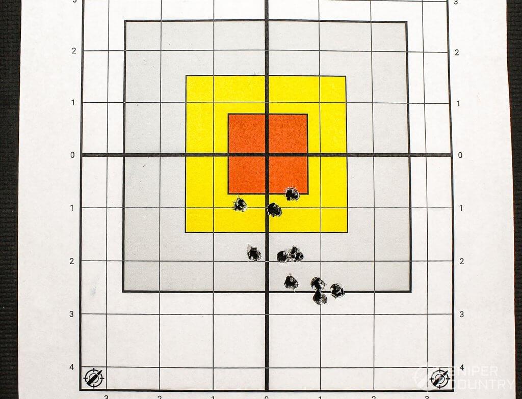 target shot with Rem
