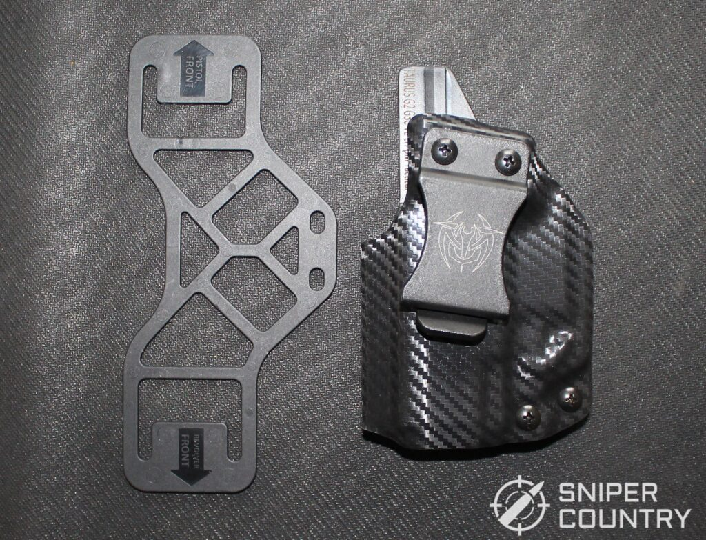 Taurus G3c Holster Out of Bag