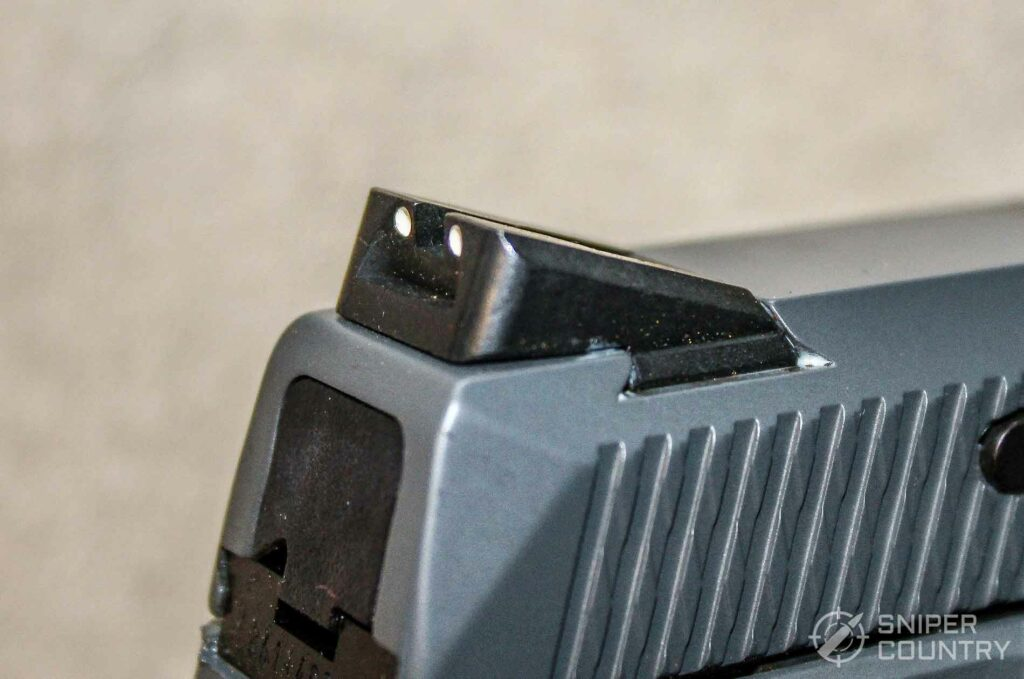 Ruger American .45 Pistol Rear Sight