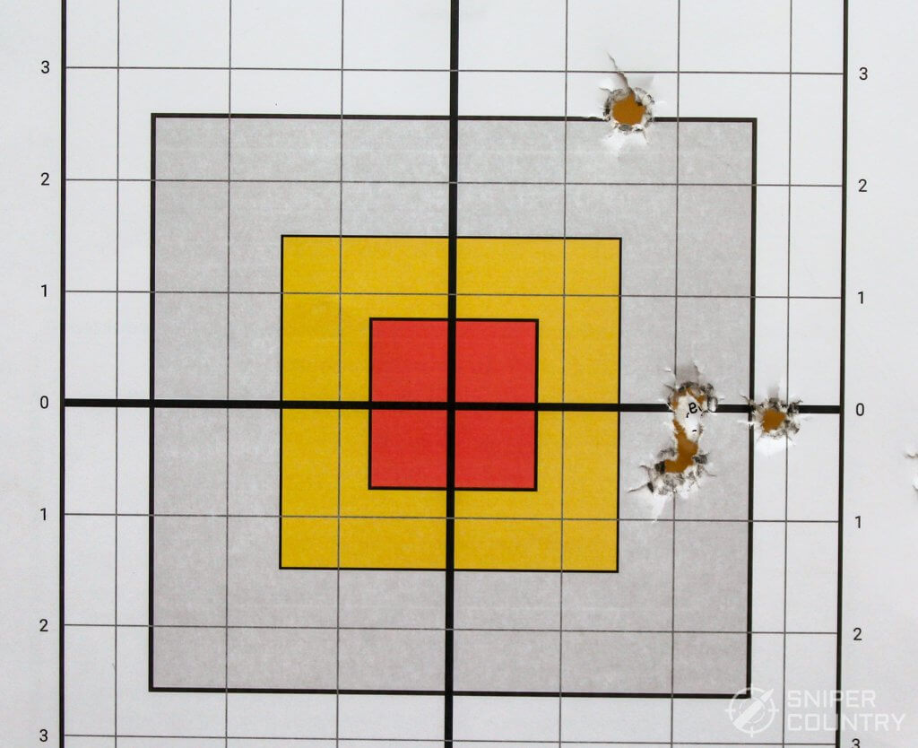 target shot with 230-RN
