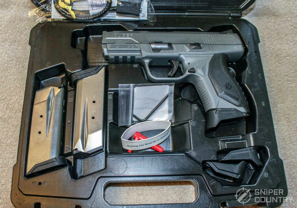 Ruger American Pistol .45 box
