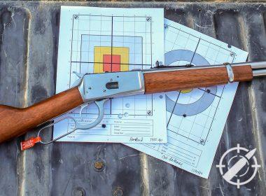 Rossi R92 magnum 357 lever action rifle title