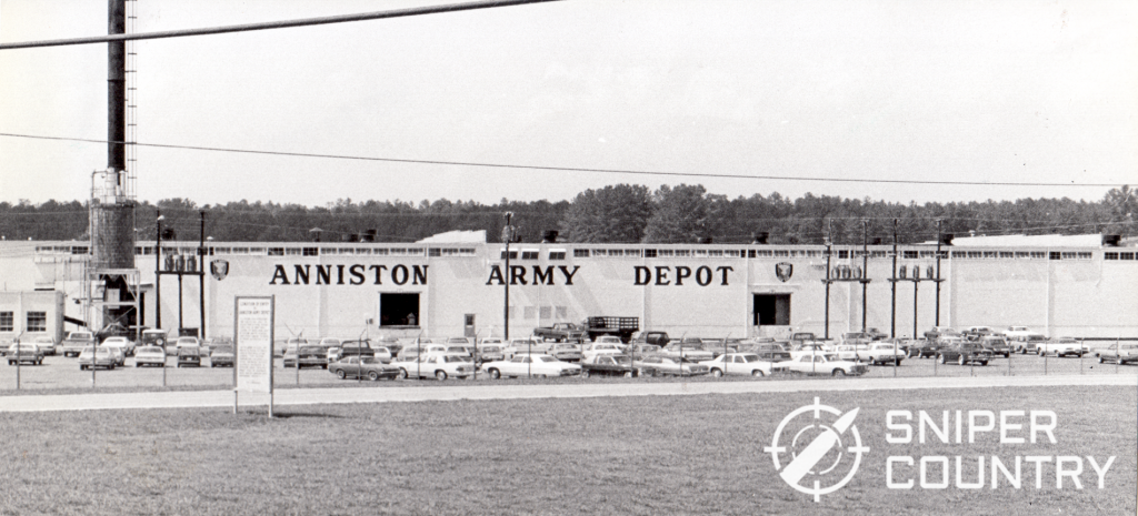 An Anniston Army Depot press photograph from 1987, taken less than a year after my CMP M1911A1 was reworked at this same factory.
