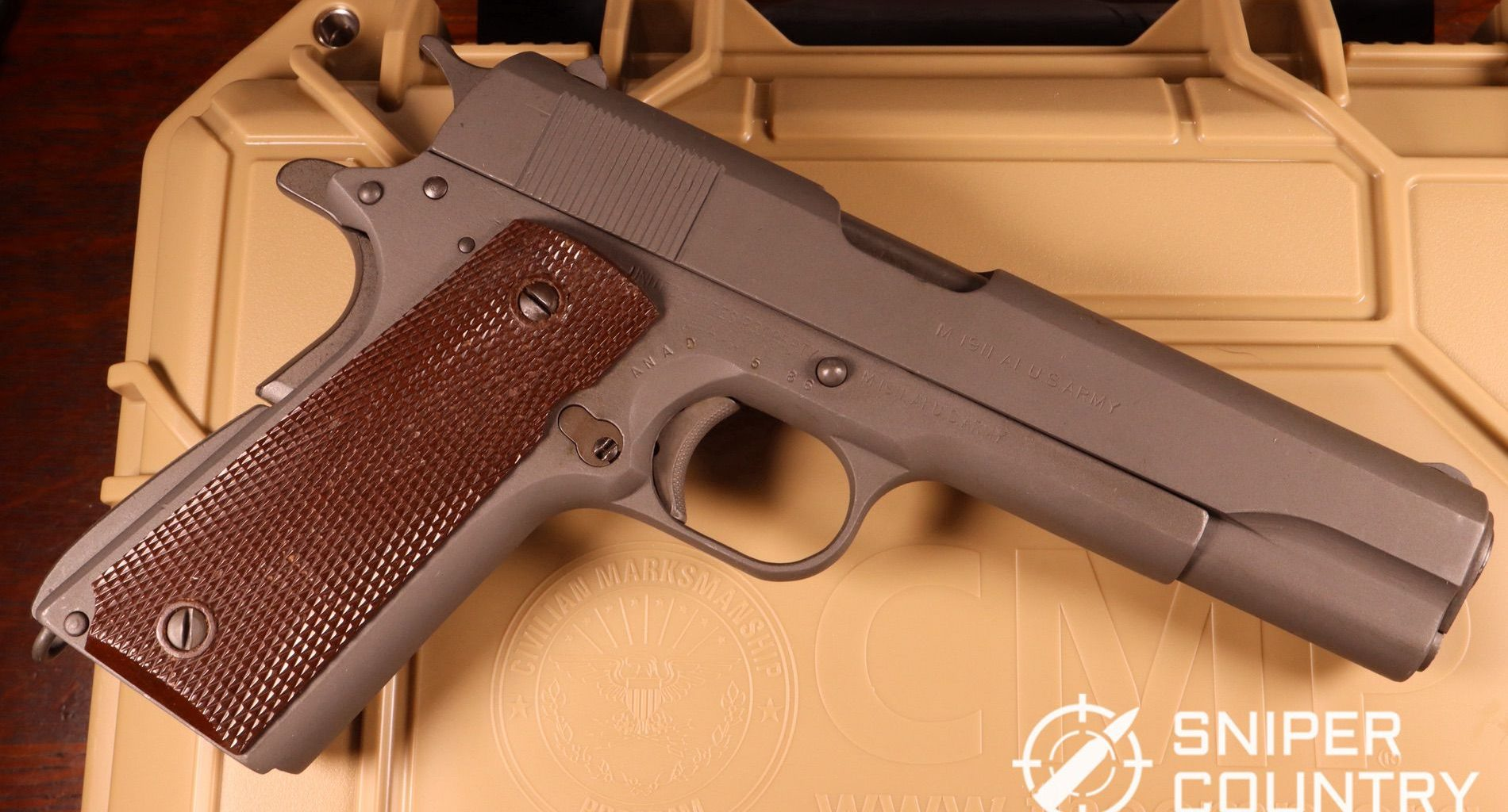 Civilian Marksmanship Program CMP M1911 review