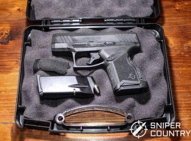 Taurus G4X gun in case