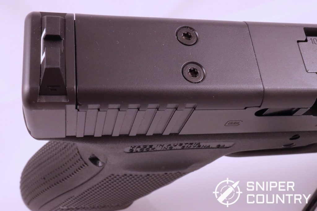 The MOS slide cut on the Glock 40 Gen 4 MOS allows the shooter to attach one of the many reflex optics currently on the market.