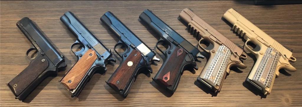 10 Best .45 Pistols