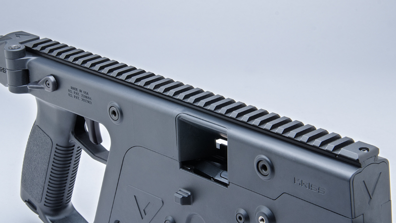 KRISS Vector SMG Rails