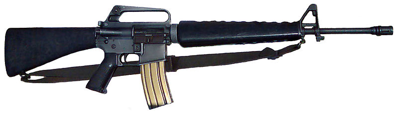 Best AR 15 Slings Two-point sling on M16A1 rifle