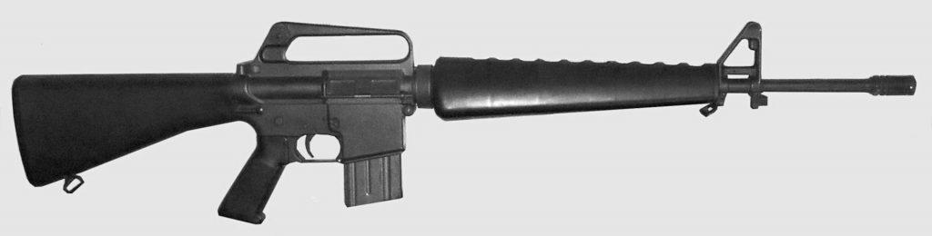 Best Gun for Home Defense 1973 Colt AR-15 SP1 Sporter rifle
