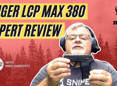 Ruger LCP Max - Pocket-Sized 10-Round .380 [Review & Video]
