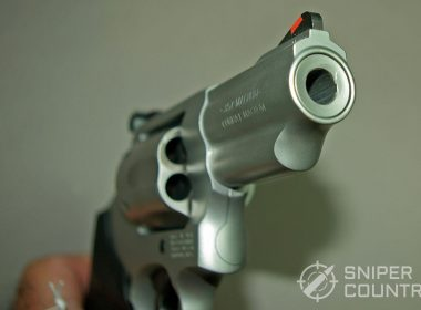 Smith and Wesson revolver