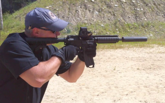 Best .300 Blackout Uppers 300 Blk rounds shot from a suppressed M4 carbine