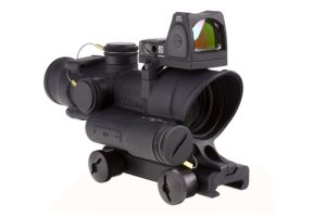 ACOG Red dot on top Combo Sight