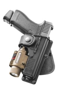Fobus Tactical light bearing holster glock 22