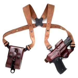 Galco Jackass Rig Leather Shoulder Holster