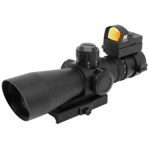 NcStar MK 3 scope with red dot on top