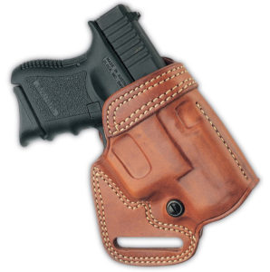 Galco Small of Back Glock 19 Leather Holster