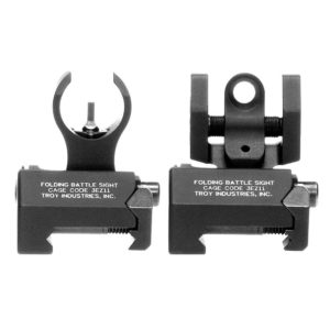 Troy Industries Micro HK Style Front and Rear AR 15 Iron Sights