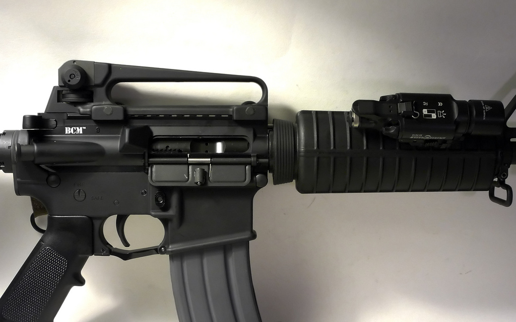 standard AR-15 Carry Handle