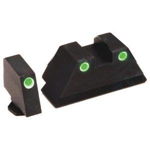 AmeriGlo Tall Suppress 3 Dot Tritium for Glock