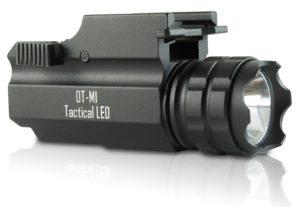 DefendTek Rechargeable Tactical LED Gun Flashlight