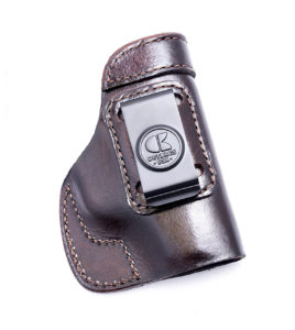 OutBags Brown Genuine Leather Gun Holster