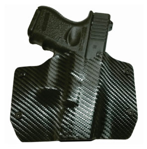 Outlaw Holsters Black Carbon Fiber OWB Holster