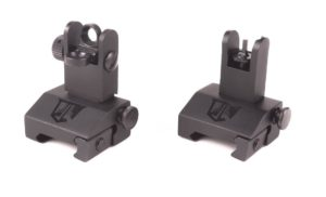 Ozark Armament Flip Up Backup Battle Sights