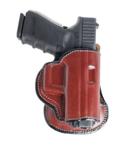 Cardini Leather USA Paddle Leather Holster