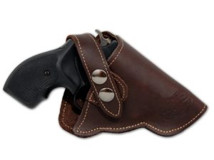 Barsony Brown Leather OWB Holster