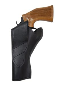Barsony Holsters Black Leather Cross Draw Gun Holster