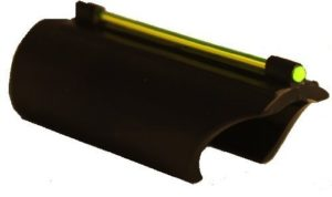 AR-GEAR Glowing Green Plain Barrel Front Fiber Optic Sight