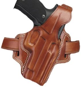 Galco Gunleather Fletch High Ride Belt Holster