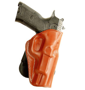 Masc Holster Leather Paddle OWB Holster