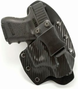 Outlaw Holsters Black Carbon Fiber Kydex